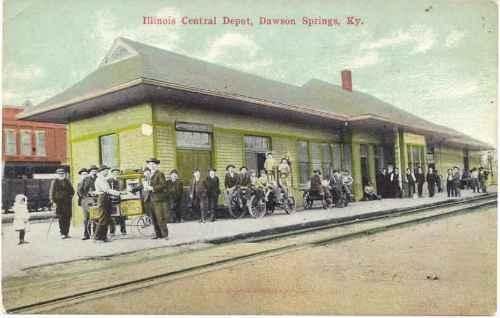 I Llinois Central Depot Dawson Springs