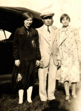 Alma, Carl and Ruby Buchanan