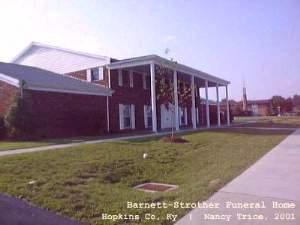 Barnett Strother Funeral Home Madisonville Hopkins Co Ky
